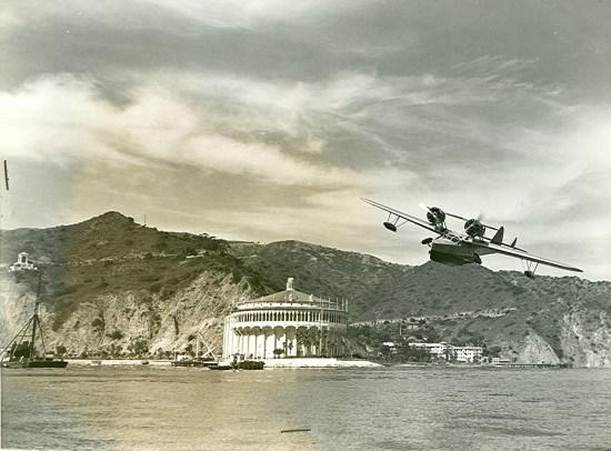 Douglas Dolphin Sea Plane, Avalon, Santa Catalina, circa 1940