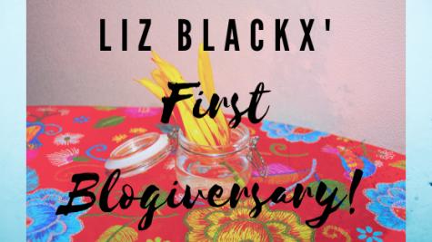 Liz BlackX' First Blogiversary!