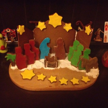 Project Gingerbread Nativity
