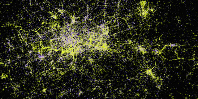 London Photography Map by Alex Kachkaev and Jo Wood, giCentre, City University London
