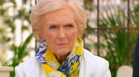 Mary Berry death stare