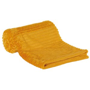 Plaid jaune