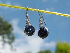 Drusy earrings