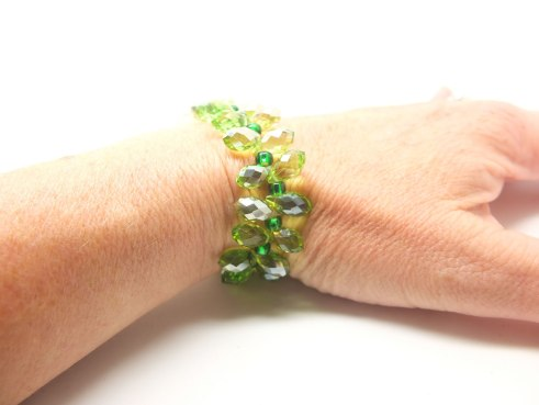 Green Chinese crystal