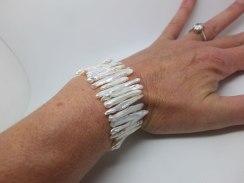 Pearl stick bracelet
