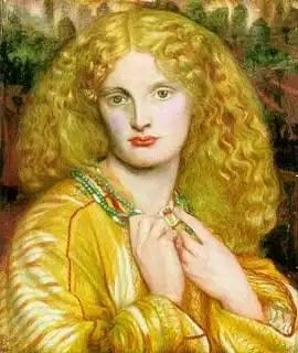 Anne Miller by Rossetti