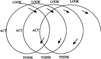 Figure 2 – Look-Act-Think Action Research Cycle (Stringer, 1999)