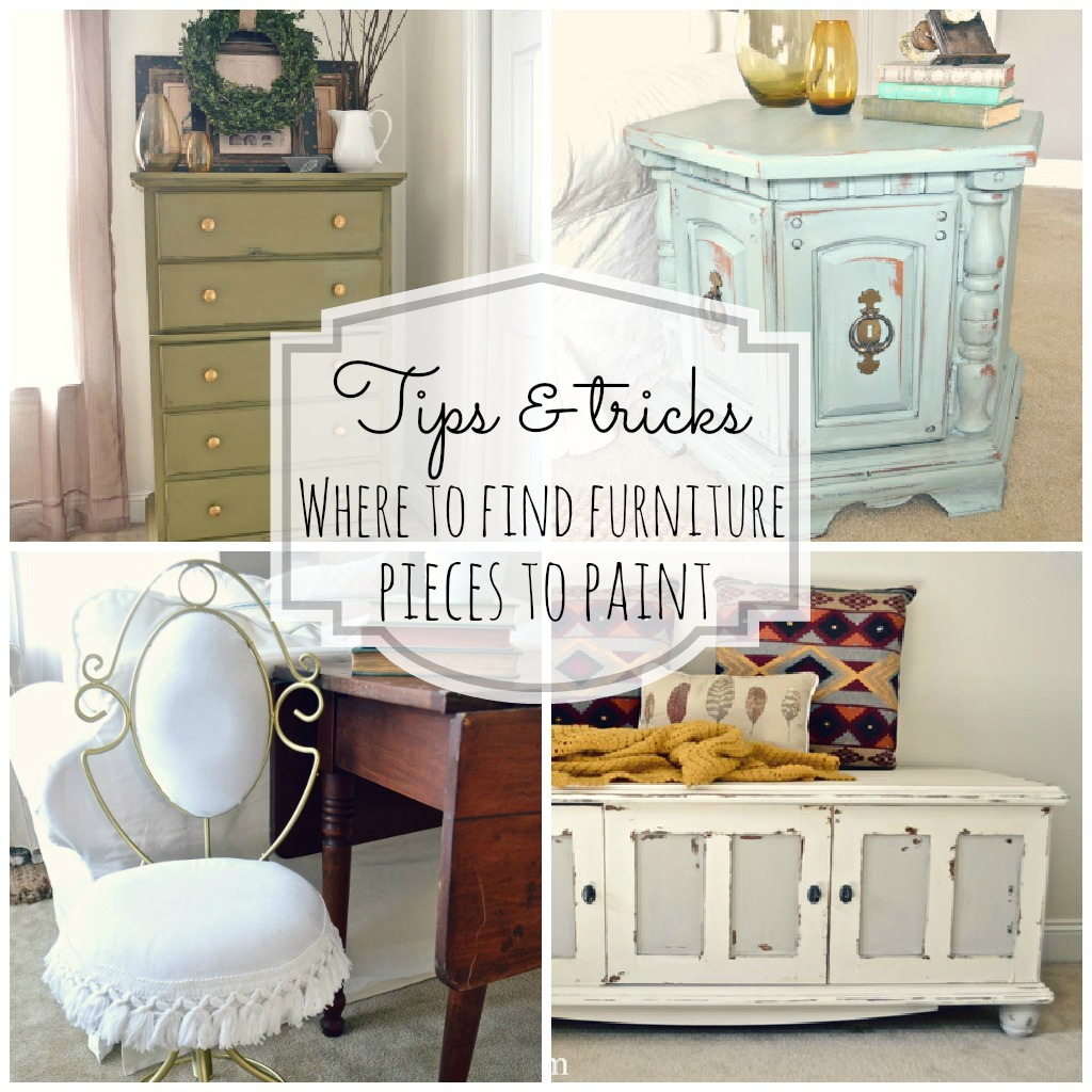 Where To Buy Good Furniture: Where To Find Furniture To Paint- Lizmarieblog.com