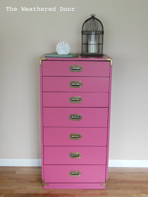 Pink Campaign Chest 1 WD
