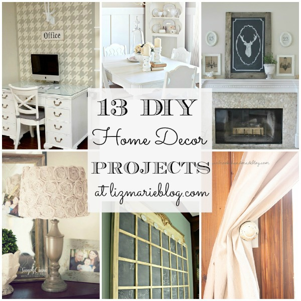 13 DIY Home decor projects