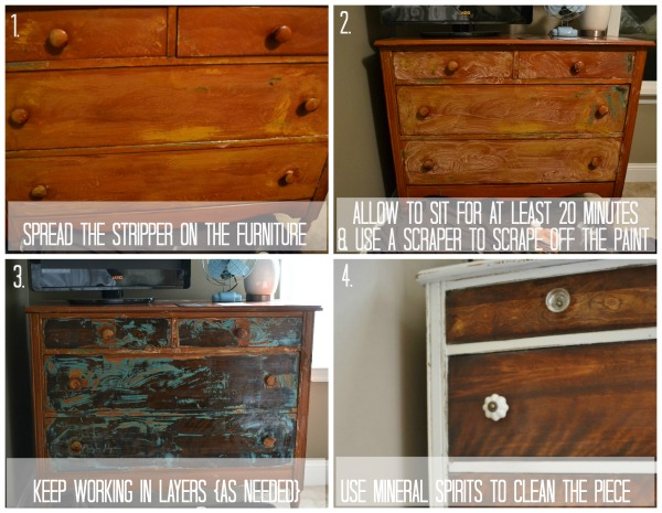 How To Strip Painted Furniture