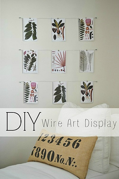 Excellent Wire Photo Display Pictures - Best idea home design .
