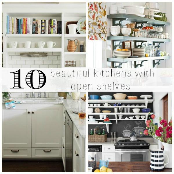 open shelving inspiration