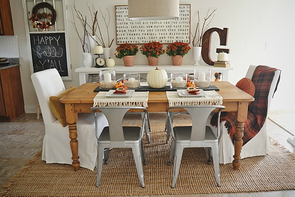 Fall Dining Room Reveal - Liz Marie Blog