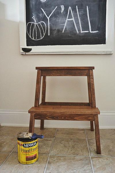 Ikea Hack Bekvam stepstool makeover - easy makeover u0026 this stool is less than $20 & Ikea Hack: Bekvam Step Stool Makeover - Liz Marie Blog islam-shia.org