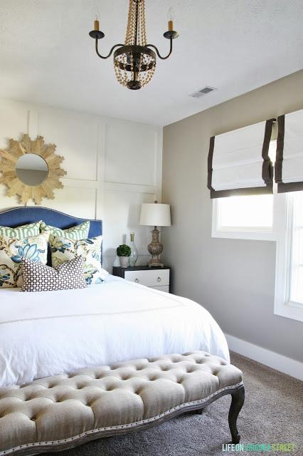 guest room chandelier
