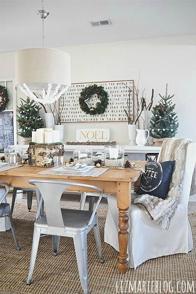 Christmas Dining Room Reveal - Liz Marie Blog