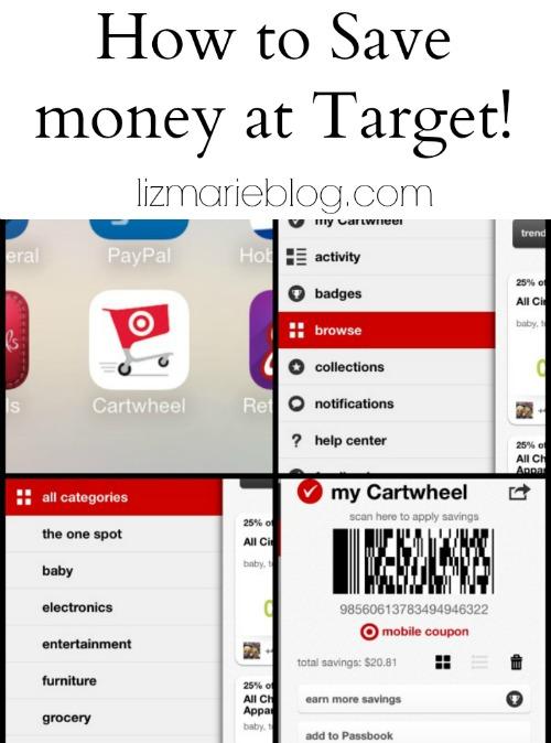 How to save money at Target - lizmarieblog.com