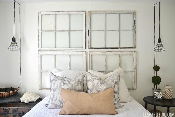 Middle guest bedroom makeover - lizmarieblog.com