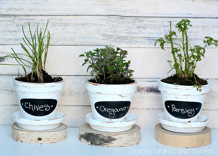 DIY-Chalkboard-Herb-Pots-So-easy-and-inexpensive-designdininganddiapers.com_