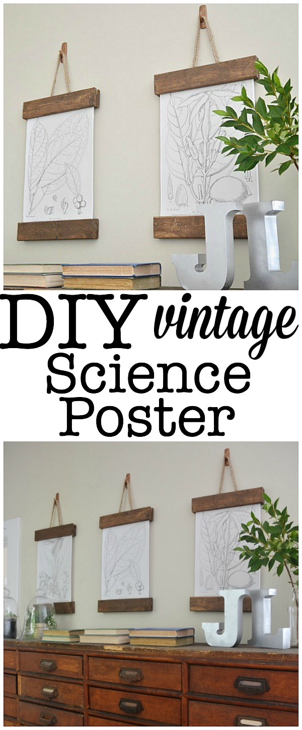 how to make a science poster