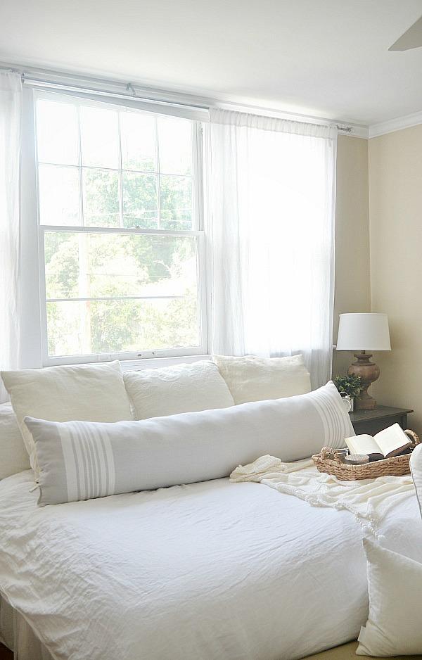 diy extra long lumbar pillow liz