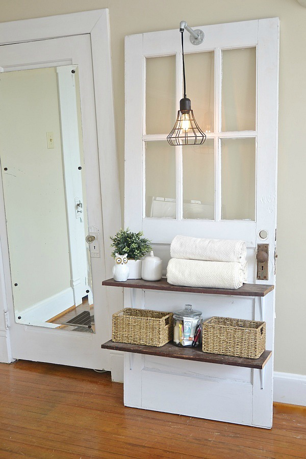 Diy Door Shelf Liz Marie Blog