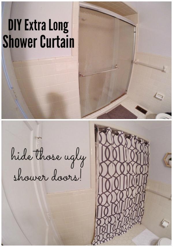 Lmb Rental Bathroom Makeover Pt 3 Shower Curtain Liz