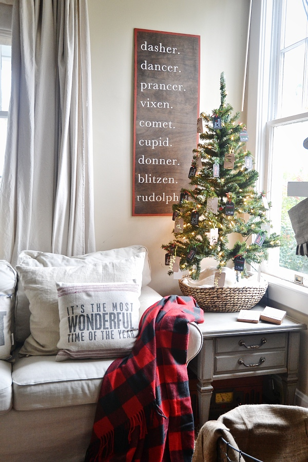 Diy Christmas Reindeer Sign Liz Marie Blog