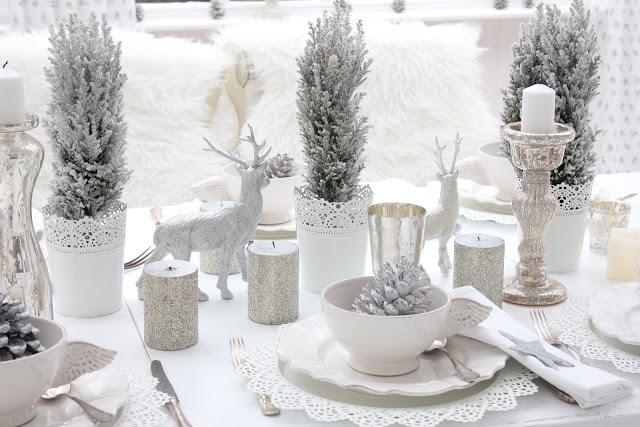 Winter decorations table ideas more liz