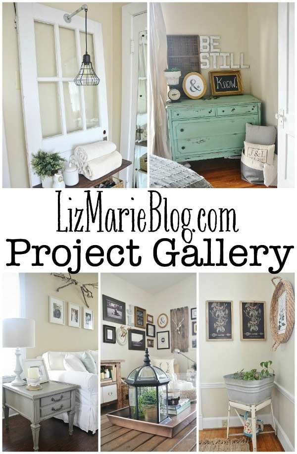 A full project gallery full of DIY & Home decor inspiration!