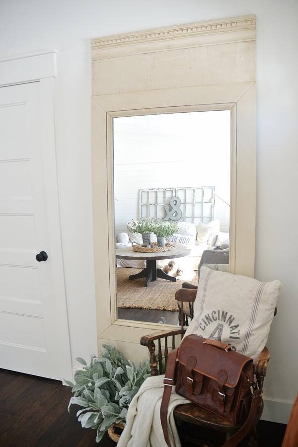Diy Floor Mirror Liz Marie Blog