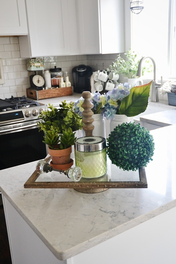 Farmhouse Kitchen Tray   Great Way To Cozy Up A Kitchen U0026 Display Decor  Like Plants