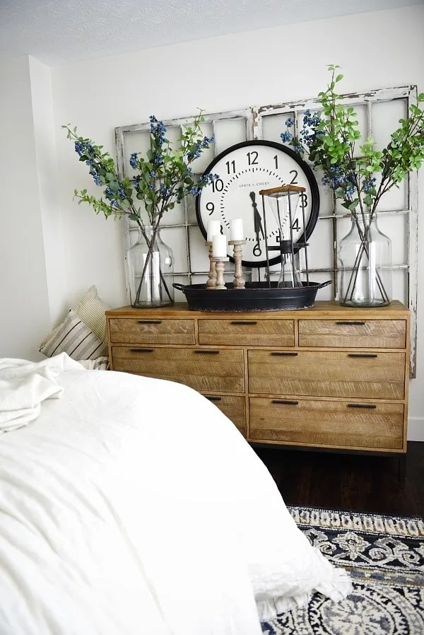 Master bedroom makeover new dresser liz marie blog Master bedroom makeover pinterest
