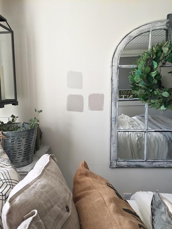 Guest Bedroom Makeover Paint Swatches Liz Marie Blog