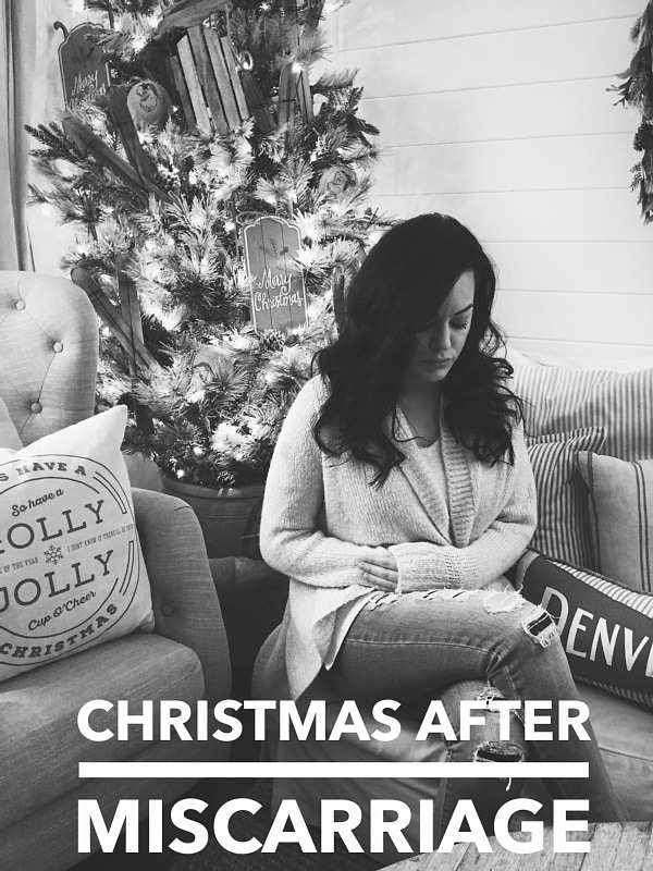 Surviving Christmas After Miscarriage - A great perspective on the holidays after losing a child.