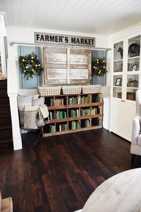 Cozy Neutral Farmhouse Style Living Room