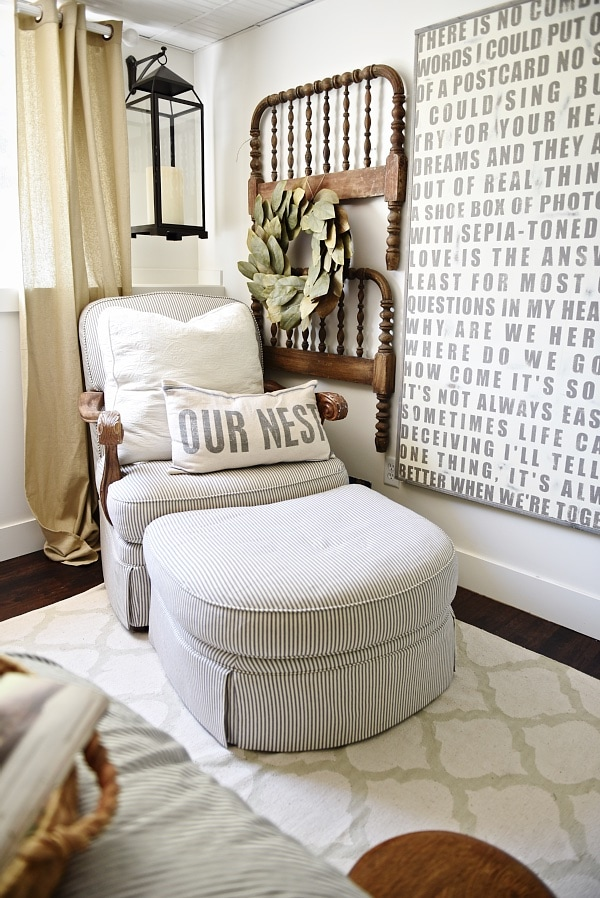 Amazing Bedroom Blog Part - 5: Guest Bedroom Makeover - See How This Bedroom Was Turned Into A Dreamy  Farmhouse Guest Bedroom
