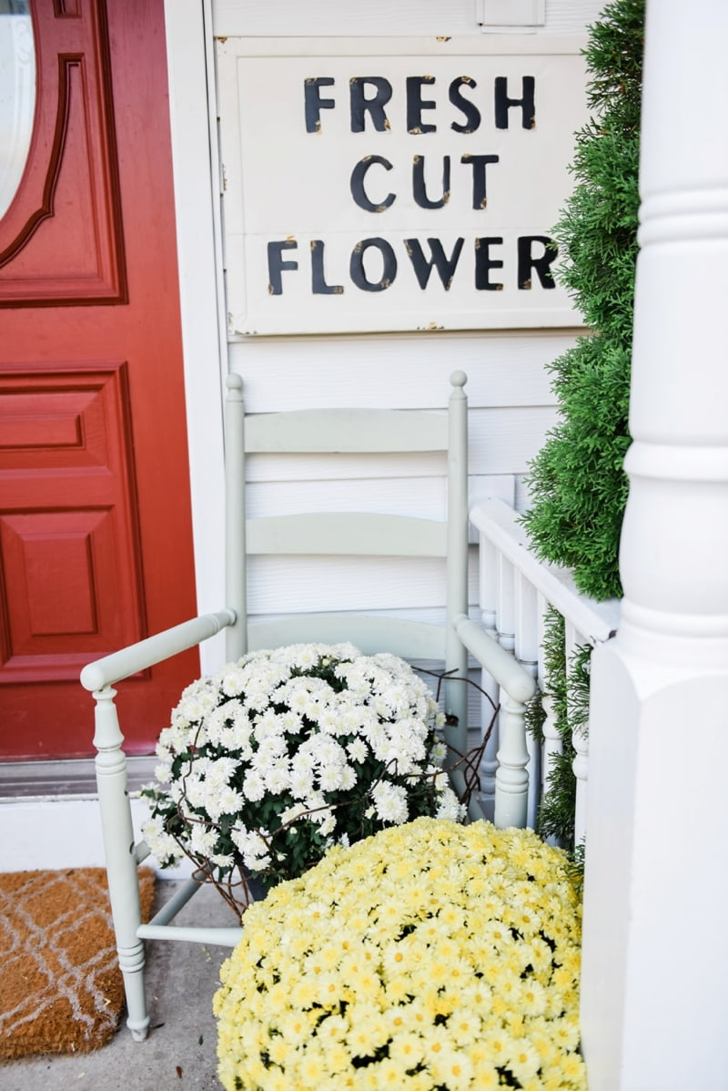 Liz Marie Blog Porch Fresh Cut Flowers Sign_0003