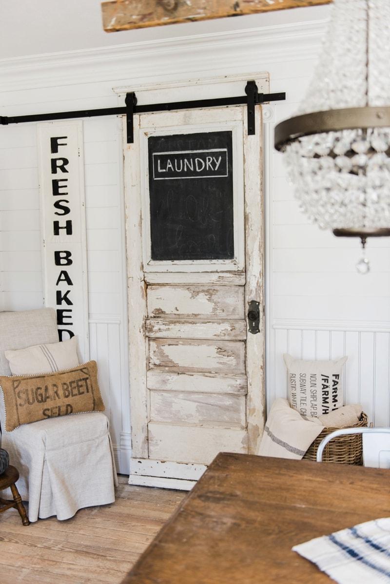 Sliding Barn Door Laundry Room Door Liz Marie Blog