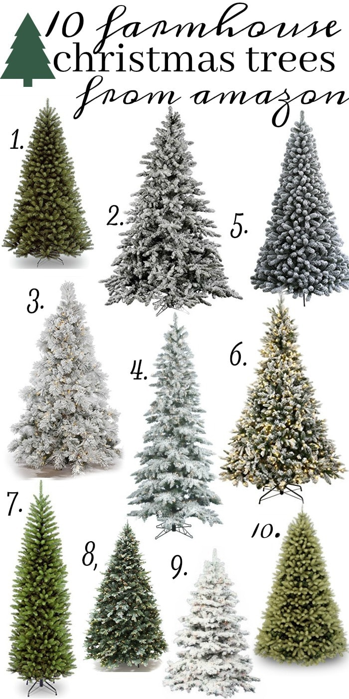 10 amazing christmas trees from amazon liz marie blog - Amazon White Christmas Tree