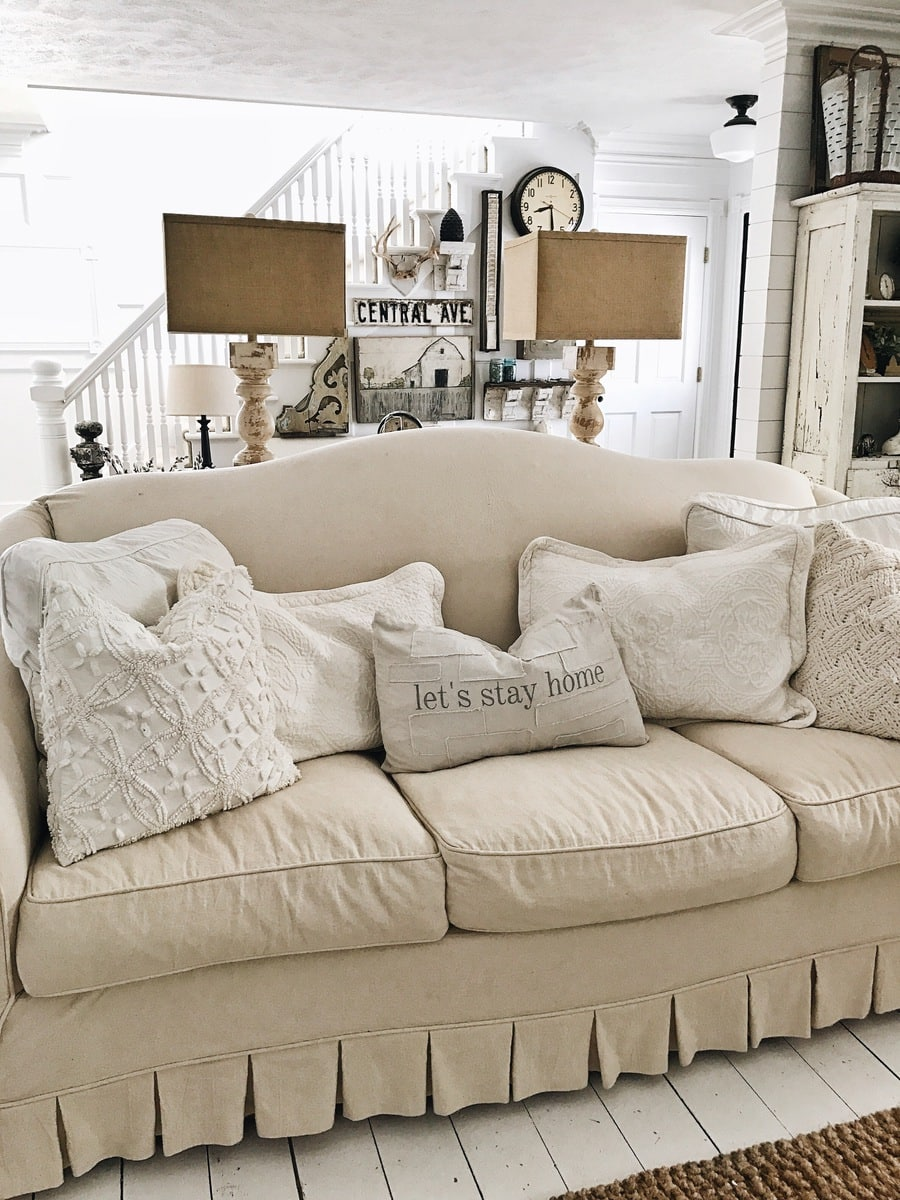 surprising farmhouse style decorating living room | 12 Perfect Farmhouse Style Lamps - Liz Marie Blog