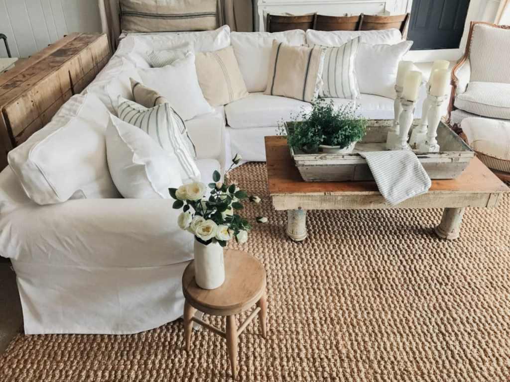 custom ikea furniture slipcovers liz marie blog. Black Bedroom Furniture Sets. Home Design Ideas