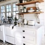 Cottage Style Kitchen Shelves To Paint Or Stain Liz Marie Blog