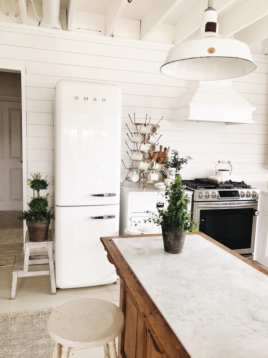 OUR FRIDGE IS IN!! Smeg Refrigerator Review - Liz Marie Blog
