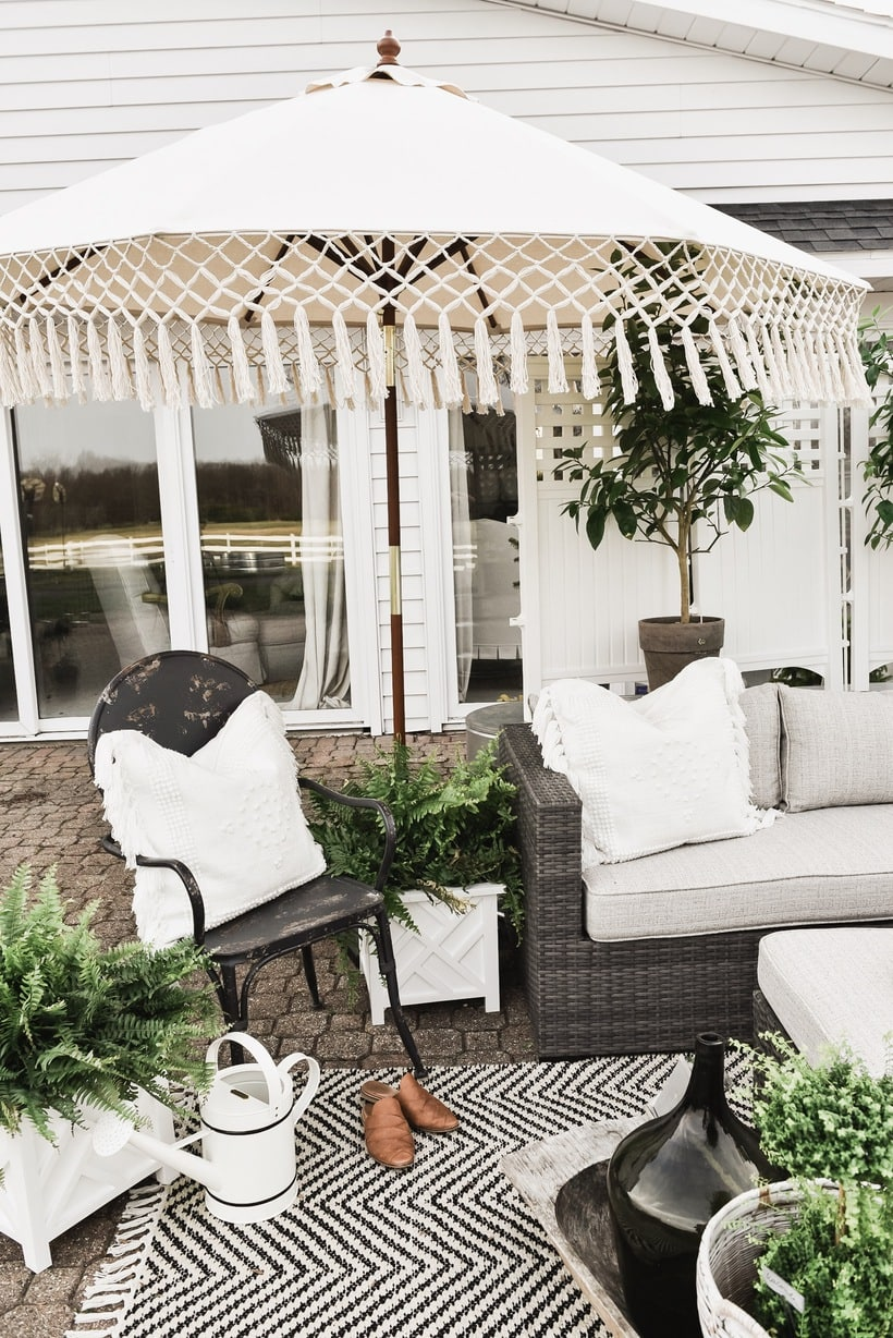 You Can See Our Full Patio Makeover Using A Few Of These Items [HERE]. So  Today To Kick Off The Sale I Shared Some Of My Favorite Picks From World  Market To ...