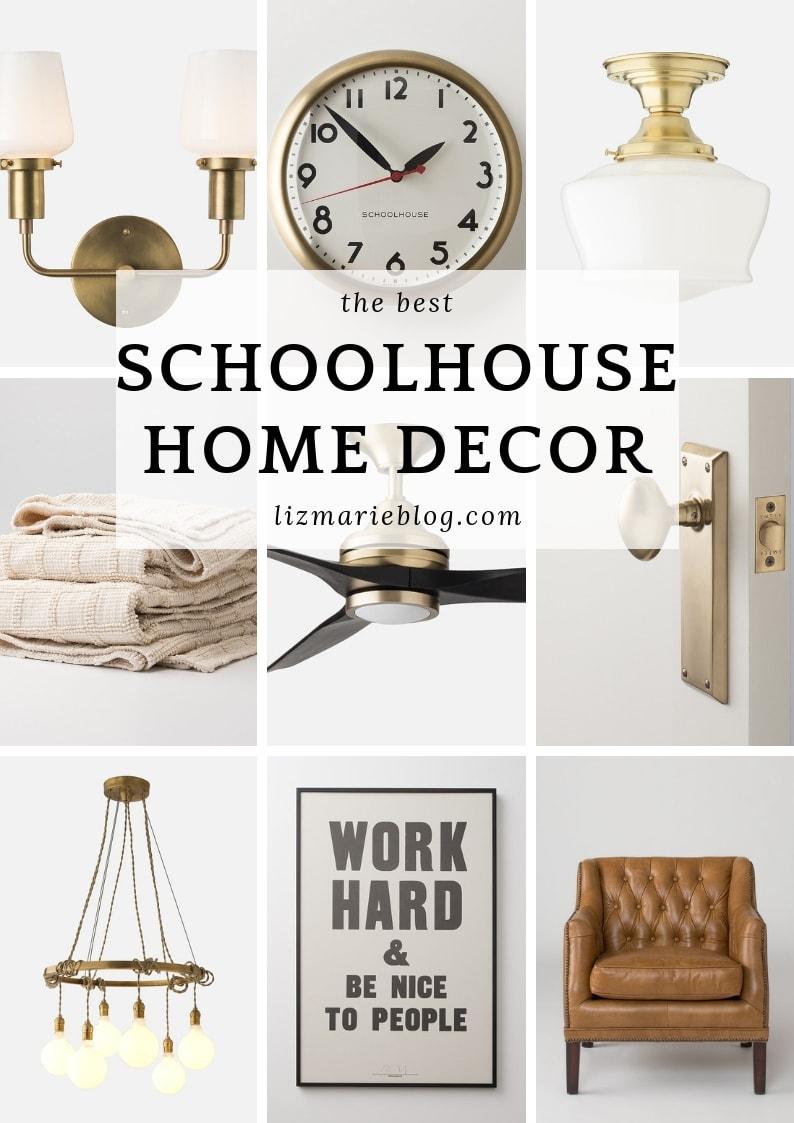 Schoolhouse Home Decor Graphic