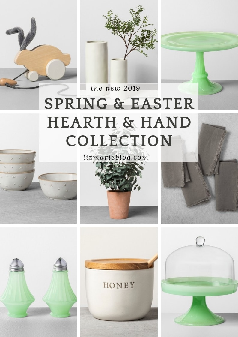 Brand New Spring and Easter Decor from Hearth & Hand Collection at Target.