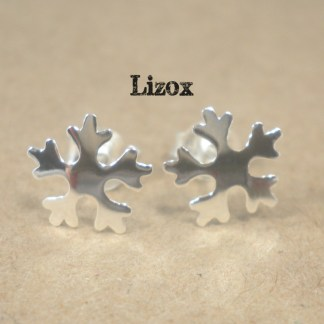 lizox-sterling-silver-snowflake-earrings