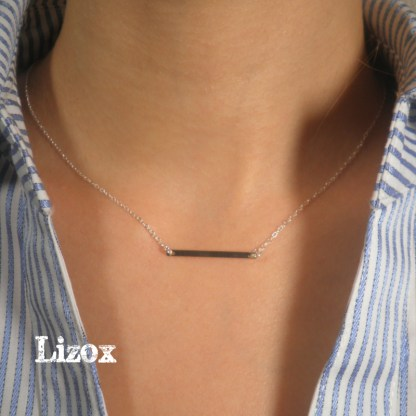 Minimalist Bar Necklace